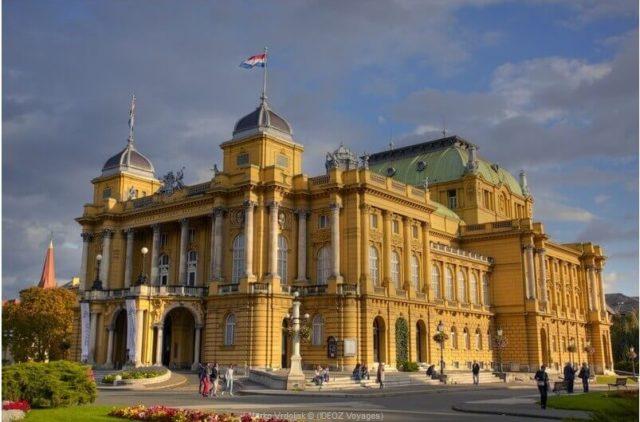Theatre National de Croatie à Zagreb