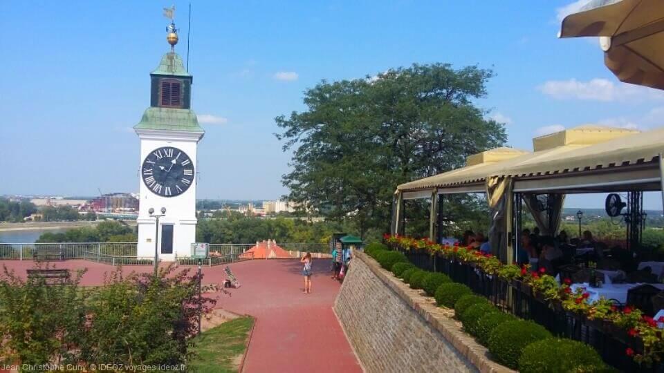 Visite de Petrovaradin et vue sur le Danube en Serbie