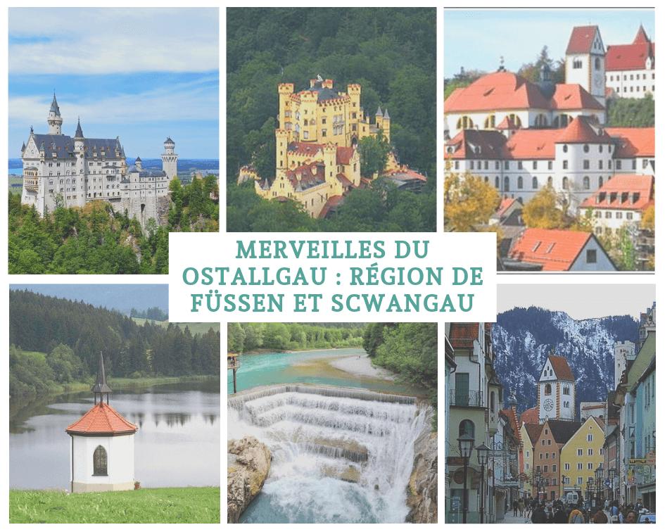 sites à ne pas manquer dans la région de schwangau fuessen neuschwanstein