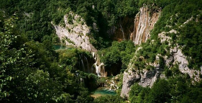 Chutes des lacs de Plitvice