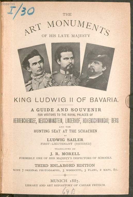 guide chateaux de louis 2 en 1887