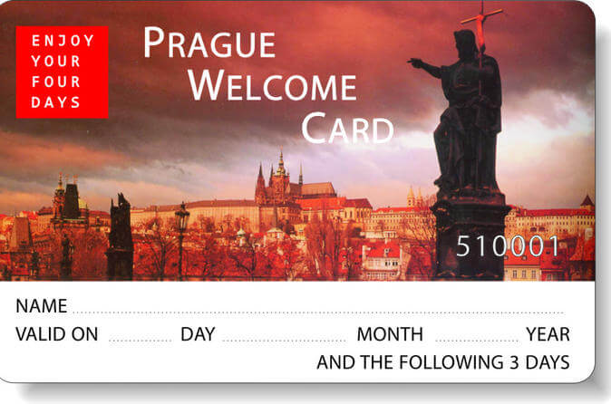 Welcome prague card