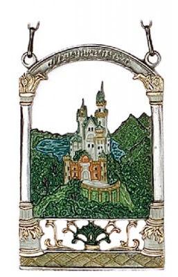 zinnbild décoration de noel chateau neuschwanstein