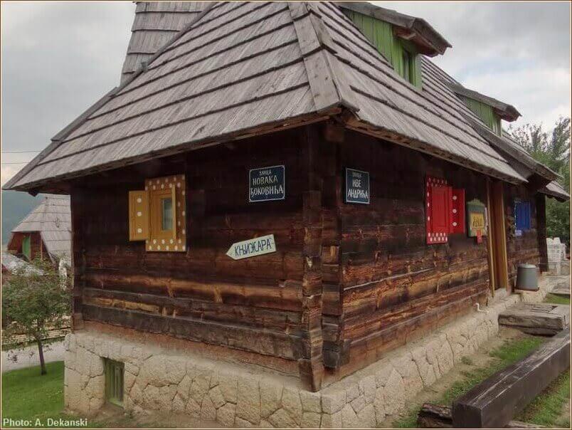 chalet drvengrad mokra gora