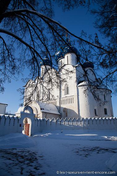 Cathédrale de la Nativité-de-la-Vierge - Souzdal en hiver