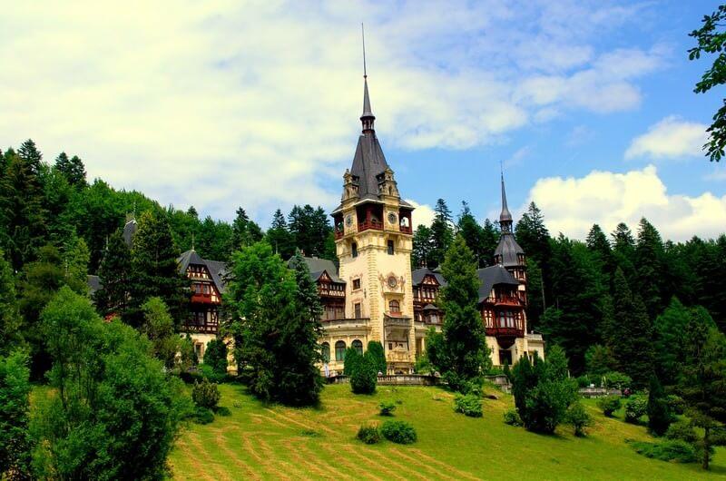 Péles chateau en Transylvanie