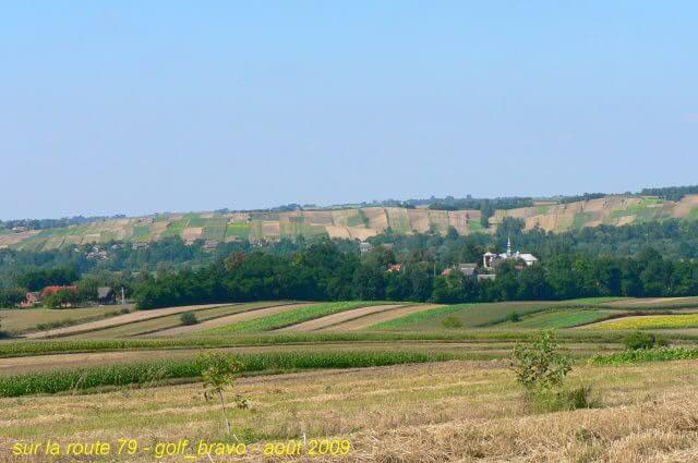 route en Pologne du sud