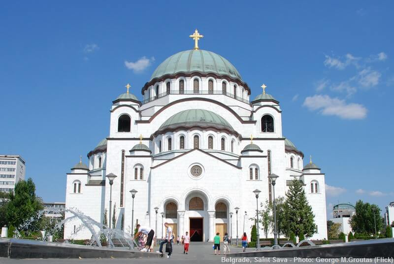 temple saint sava de Belgrade