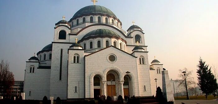 Temple Saint sava Belgrade