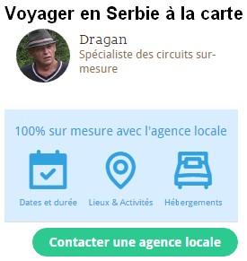 agence de voyage locale en Serbie