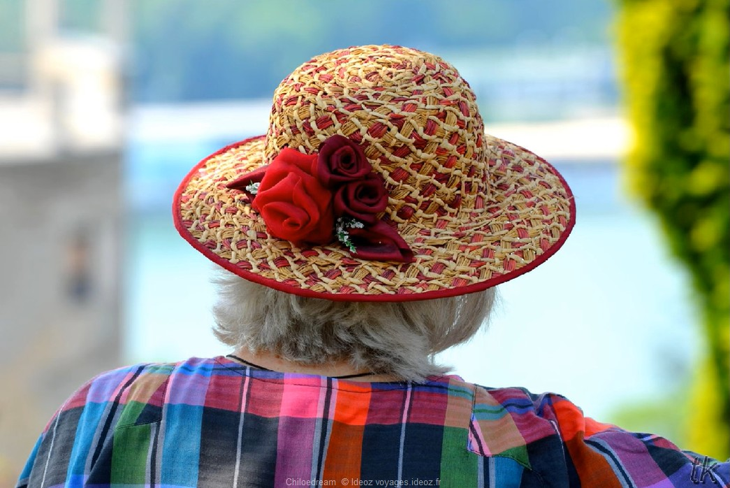 Belgrade dame au chapeau