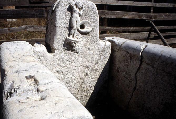 Herculanum fontaine