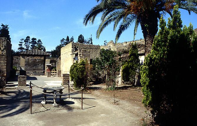 Herculanum site archéologique