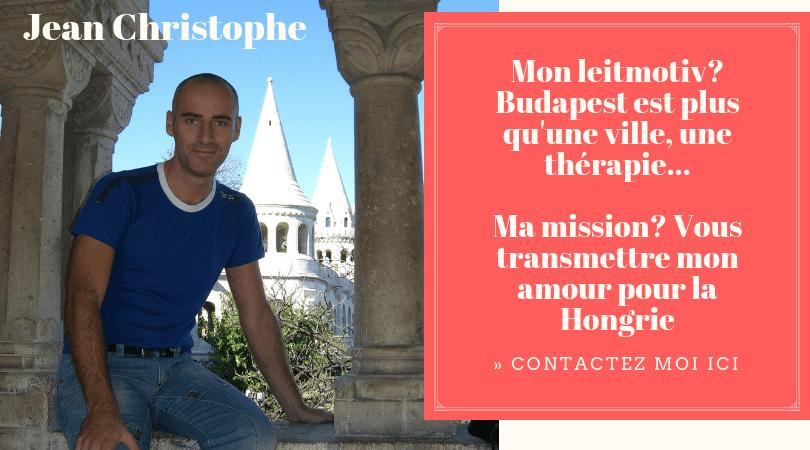 Jean christophe guide francophone à budapest