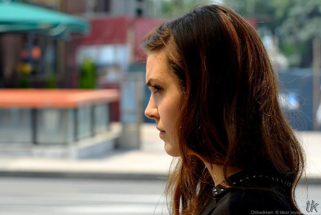 Portrait jeune femme à Belgrade