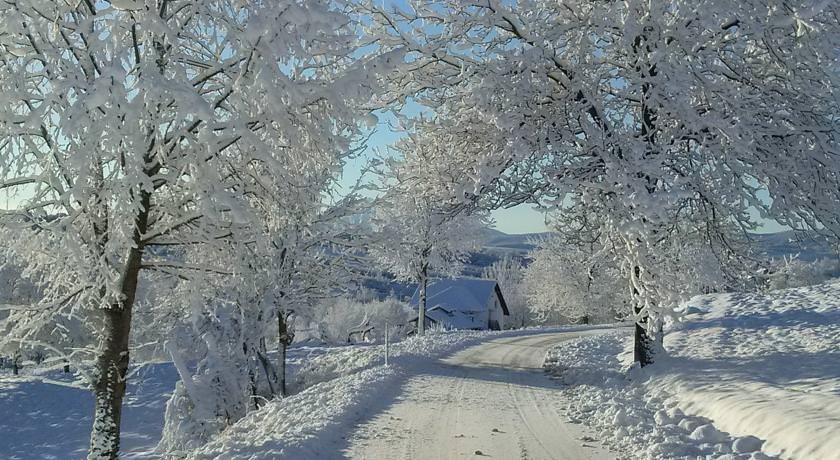 ruhige lage plitvice en hiver