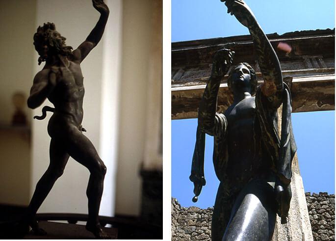 Statues de Pompéi