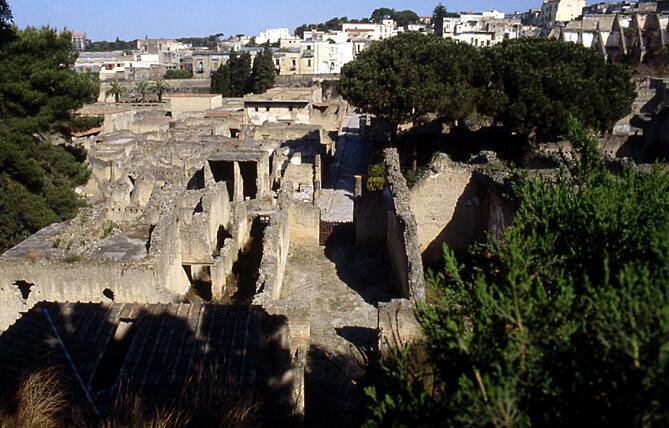 herculanum vestiges de la ville antique