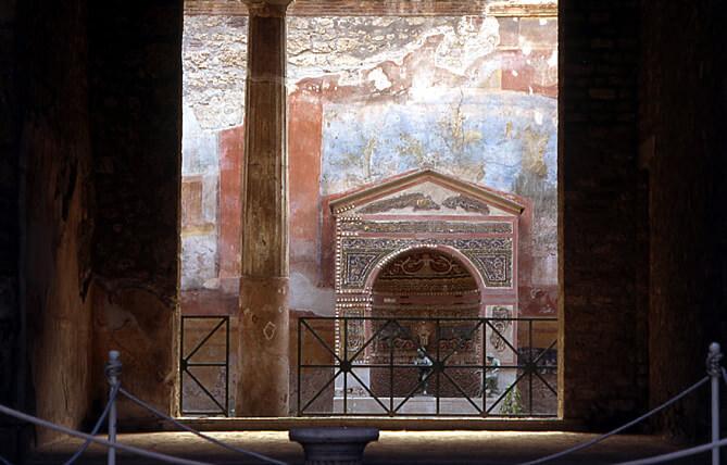 Pompei maison