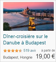 Budapest diner croisiere Viator