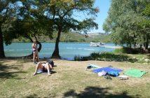 Parc Krka plage à Roski Slap
