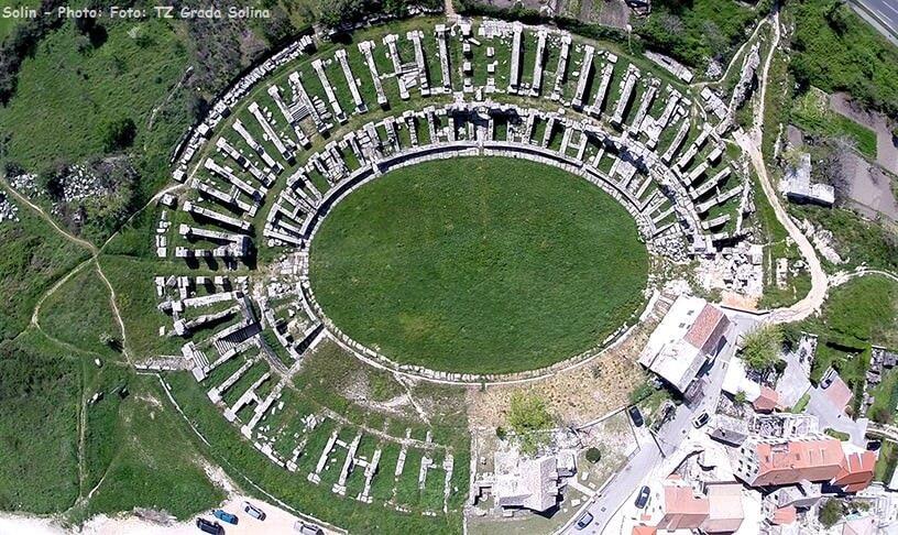 Salona Site archéologique antique Solin Croatie Split