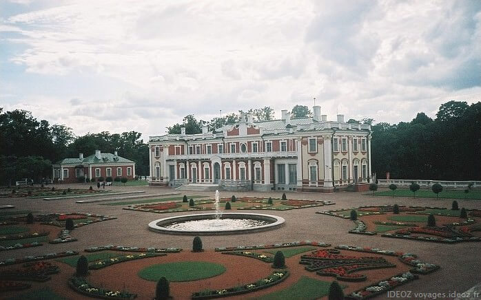 Tallinn Chateau Kadriorg et parc