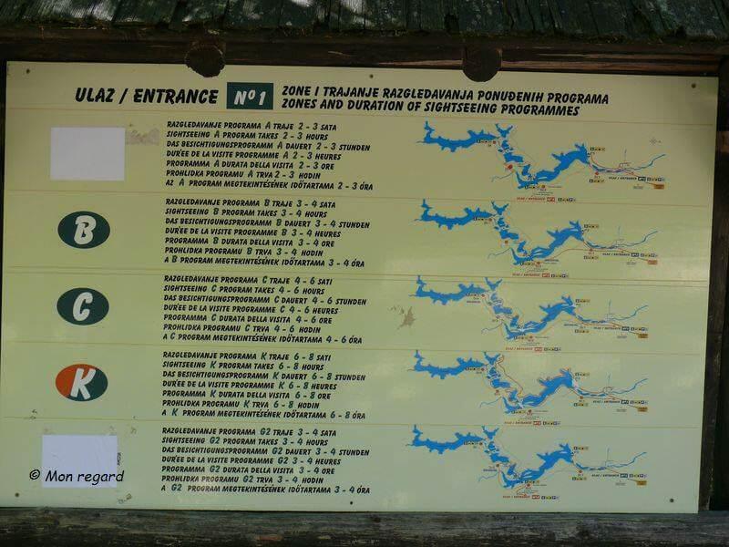 circuits randonnée à Plitvice