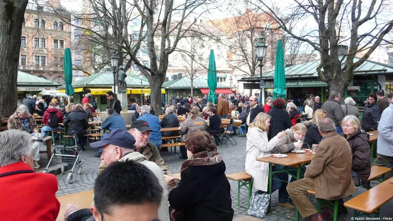 Biergarten munich le jardin bi re une institution bavaroise - Office de tourisme munich ...