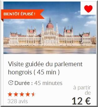 Budapest visite guidée du Parlement en français