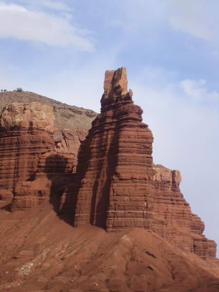 Chimney Rock de Capitol Reef