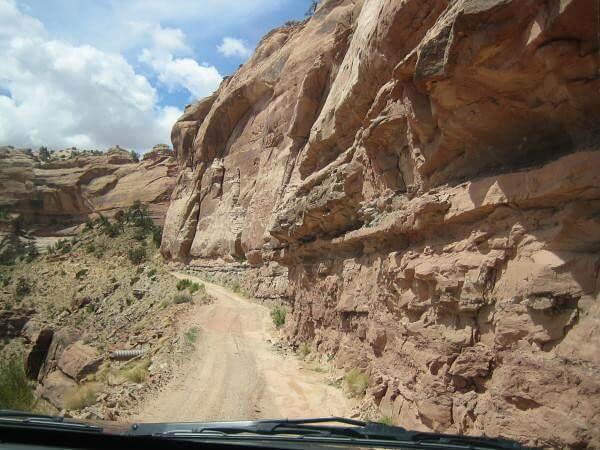 Colorado à Dead Horse Point piste
