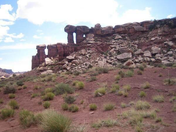 Colorado à Dead Horse Point rochers