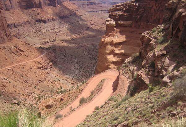 Colorado à Dead Horse Point route
