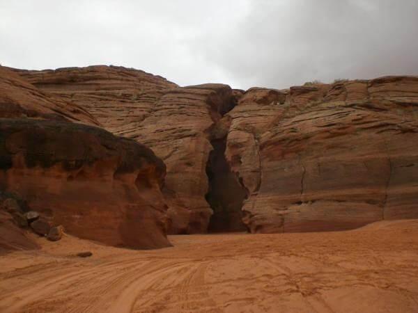 Entrée de Upper Antelop Canyon