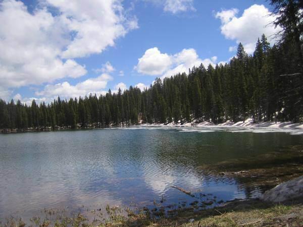 Grand Mesa Scenic Drive Lake