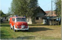 Lonjsko Polje camion de pompiers