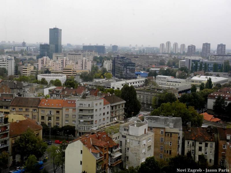 Novi Zagreb quartiers populaires et blocs communistes