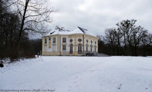 Badenburg pavillon de bains Nymphenburg Munich