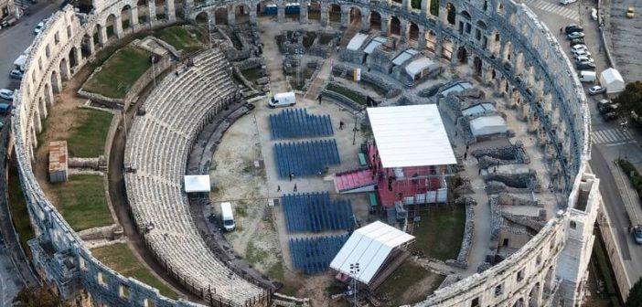 Pula amphithéâtre d'Auguste