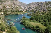 Rafting Rivière Zrmanja