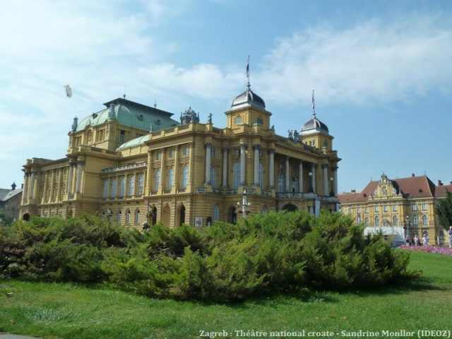 Theatre national croate à Zagreb