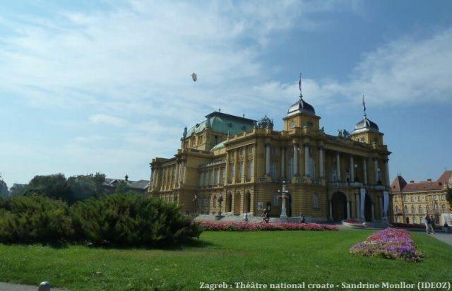 Theatre national croate Zagreb