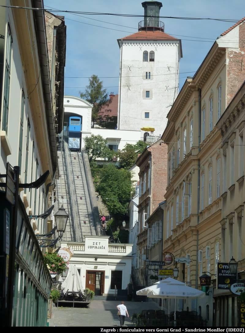 Zagreb funiculaire Zet Upsinjaca