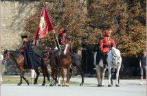 Zagreb relève de la garde du régiment des cravates à Kaptol