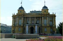 Zagreb theatre national croate