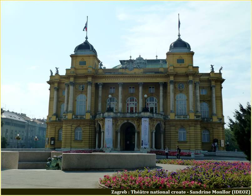 Zagreb theatre national croate