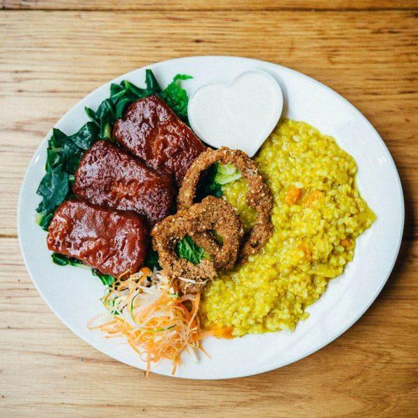 Zrno Bio Bistro restaurant vegan à Zagreb
