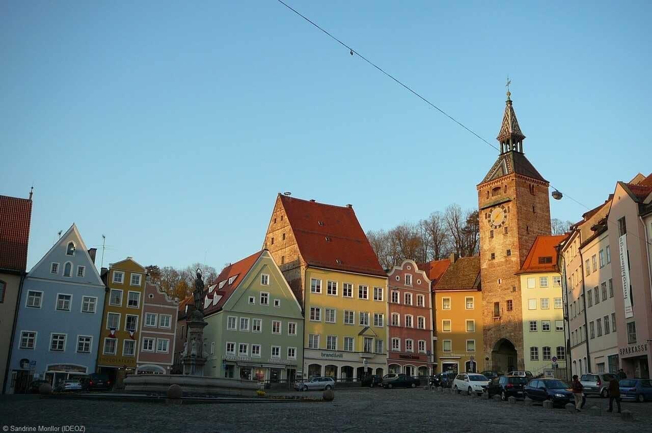 landsberg am lech centre historique