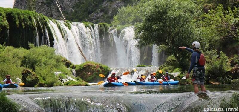 Canyoning sur la rivière Zrmanja
